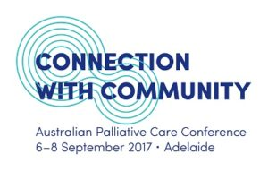 Connection With Community | Australian Palliative Care Conference Logo