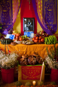 Photo of Day of the Dead Alter in Milpa Alta