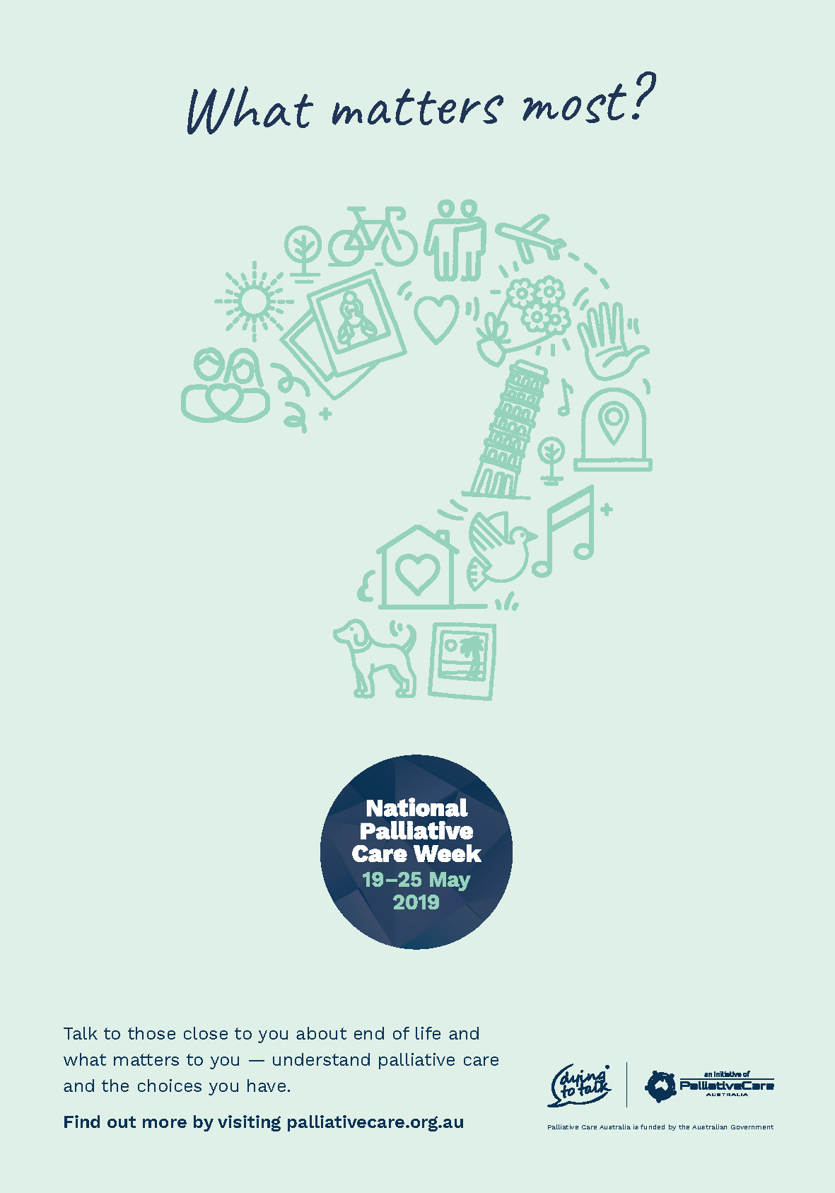 National Palliative Care Week - Palliative Care