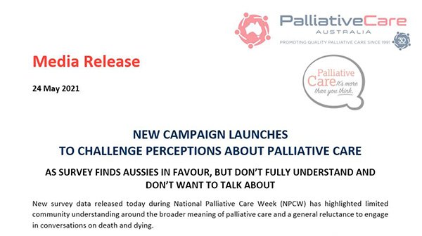 New campaign launches to challenge perceptions about palliative care